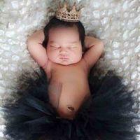 diadema mini corona al por mayor-Falda recién nacida Traje Traje Diseñador Diseñador Vestido Chica Corona Banda para el cabello Color sólido Medio cuerpo Falda irregular 49