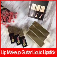 Wholesale size guitars for sale - Group buy Popular Lip makeup guitar Lipgloss liquid Lipstick balm travel selection lip gloss glossy stain lips set set