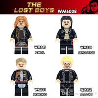 Wholesale lose toys resale online - WM6008 The Lost Boys Movie Characters Marko Paul Dwayne David Educational Children Toys