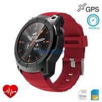 reloj deportivo gsm al por mayor-Smart Watch S958 Monitor de ritmo cardíaco Smartwatch Modelo multideportivo Smart Watch para Android IOS Tarjeta SIM GSM Sports Watch