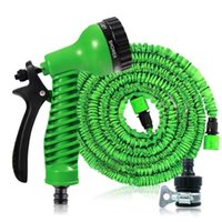 Wholesale irrigation hose reels for sale - Group buy Magic Garden Water Hose Flexible Expandable Garden Hose Reels Tube Car Watering Connector Irrigation Hose With Spray Gun