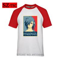 camiseta del héroe al por mayor-Camisa Hyoro de Dorok de Hyakkimaru - Todoroki Shoto Shirt - My Hero Academy Anime Manga BNHA Anime manga corta camiseta hombre