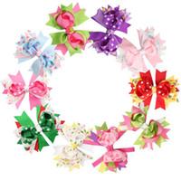 ingrosso legami colorati-Giorno tornante colorato stile bow tie tornante coda di rondine Festival tornante di San Valentino 11 stili di trasporto libero