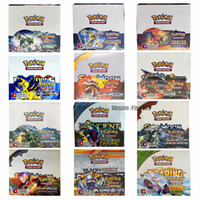 Wholesale lose toys for sale - Group buy 324PCS Cards Sun Moon TCG EVOLUTIONS BURNING SHADOWS LOST THUNDER TEAM UP UNBROKEN STORM FORBIDDEN LIGHT Cards Game