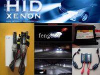 araba ince hid kit toptan satış-Otomatik Xenon HID Dönüşüm Kiti 12 V DC gerilim 35 W H7 6000 K Araba Hid Xenon Kiti Blub Lamba Ince balast