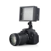iluminación para la fotografía al por mayor-Freeshipping 160 LED Studio Video Light para Canon para Nikon Camera DV Videocámara Estudio de Fotografía Profesional de Alta Calidad