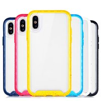 Wholesale iphone protective case online - Premium Quality luxury designer High Transparent Phone case for iphone plus xs xr xs max Shock absorption cellphone Protective Cover