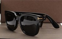 Wholesale big goggles resale online - luxury top big qualtiy New Fashion Tom Sunglasses For Man Woman Erika Eyewear ford Designer Brand Sun Glasses with original box tom