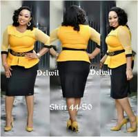 nuevos estilos de vestidos africanos al por mayor-XXXL Nuevo estilo de ropa de mujer africana Dashiki moda Nail Bead redes de hilo de África Midi Dress talla S M L XL 2XL