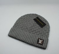 Wholesale knit hats for adults for sale - Group buy Designer Skullies Caps Beanies for men women New Winter Brand Beanies knitted skateboard skull caps hats with tag