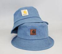 Wholesale mens fashion bucket hats resale online - brand fashion luxury designer Bucket Hat Mens Womens Foldable Fishing Caps Fisherman Beach Sun Visor Sale Folding Man Bowler Cap