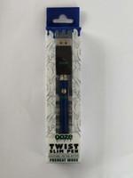 mejor cargador vape al por mayor-mejor batería de precalentamiento Twist Ozeze 380mAh Kit de cargador Precalentamiento de voltaje variable inferior Batería Bud Vape 510 Aceite grueso Cartucho OO ZE