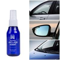 Wholesale waterproof car glasses resale online - 60 ML Auto Maintenance Car Polish Care Spray Windows Anti fog Window Glass Coating Multi function Waterproof Spray LLA41