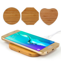 Wholesale wooden qi charger online – Wooden Qi Wireless Charger for iP X XS Max XR Wireless Charging for Samsung S8 S9 S10 plus