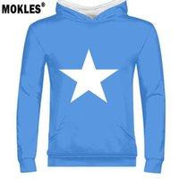 ingrosso bandiere diy-Somalia Man Diy Libero Personalizzato Ppopo Nome Numero Boy Pullover Nazione Bandiera Soomaaliya Repubblica federale Somalo Stampa Testo Abbigliamento