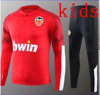 camisa de valencia al por mayor-chaqueta de los niños Valencia CF Fútbol GAYA Valencia deportes usan 19 20 camisa PAREJO fútbol ropa de entrenamiento GAMEIRO RODRIGO Jersey S.MINA