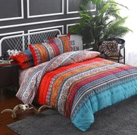 Wholesale foreign bedding for sale - AliExpress Amazon Cross border Hot Sale Bohemian pieces Set New National Wind Foreign Trade Size Bedding Duvet Cover Set