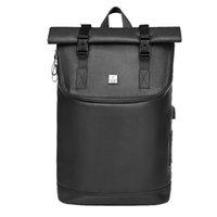 mochila para laptop china al por mayor-Precio barato 2019 Impermeable con estilo de China Unisex Mochilas escolares Mochila mayorista con compartimiento para laptop
