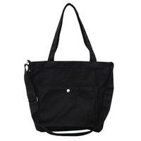 черный мешок покупателя оптовых-Многоразовые хозяйственная сумка Shopper женщины сумка продуктовый тотализатор ткань ткань сумки Эко холст сумки белый мешок черный bolsas де tela B20