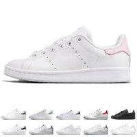 bottes de cuero al por mayor-2019 Nuevo stan zapatos Smith de calidad superior Marca para hombre para mujer de cuero casual zapatillas deportivas Skateboard zapatillas tamaño eur 36-45