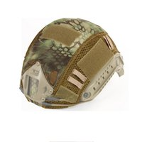 Wholesale tactical fast helmets resale online - 2020 Tactical Adjustable Fast Helmet For Paintball Hunting Shooting Outdoor Sports