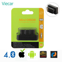 Wholesale elm 327 iphone resale online - Elm327 Bluetooth OBD2 Auto Scan Tool Mini ELM OBD Eml327 Diagnostic Scanner For Cars Adapter For iPhone Android