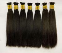extensiones de cristal de pelo al por mayor-Extensión sin costura femenina extensión de cabello de plumas de cabello real para bebé extensión de cabello 6D horquilla soporte para horquilla envío gratis al por mayor