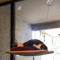 Wholesale hanging cat hammock for sale - Group buy Cute Pet Hanging Bed Bearing kg Cat Sunny Seat Window Mount Pet Cat Hammock Comfortable Cat Bed Shelf Seat Beds Pet Supplies BC VT1042