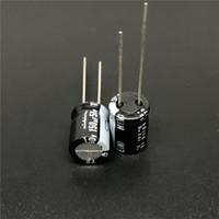 condensateurs électrolytiques nichicon achat en gros de-5pcs / 50pcs 150uF 50V NICHICON HE série condensateur électrolytique en aluminium extrêmement basse impédance 50V150uF