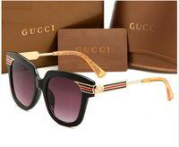 calidad aaa gafas de sol al por mayor-Top Fashion Luxury Women Sunglasses Brand 0281 Square Summer Style Full Frame de alta calidad protección UV color mezclado Come