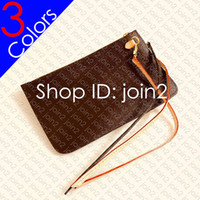 Wholesale zip cell phone pouch for sale – best Designer Shopping Bag REMOVABLE ZIPPED POUCH ZIPPERED CLUTCH Women Mini Pochette Accessoires Cle Phone Bag Charm Toiletry Pouch Wallet