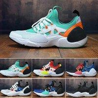 erkekler için huarache toptan satış-Yeni 2019 Huarache E.D.G.E TXT QS Üniversitesi Kırmızı Ayakkabı Erkekler Kadınlar Huaraches 7 KENAR Üçlü siyah beyaz huarache Sneakers Boyut 7-11 Koşu
