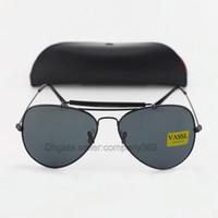 Wholesale price lenses for glasses for sale - Group buy 5pcs Wholesaler Price Classic Vassl Brand Sunglasses for Men Designer Oval Frame Black mm Lens Women sugnlasses colors with Lether case
