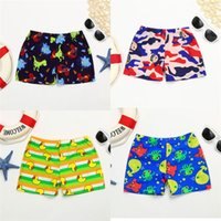 64b2902f7406e 2019 New Arrival Summer Boys Shorts Kid Children Boys Cartoon Print Stretch  Beach Swimsuit Swimwear Pants Kids Shorts M8Y29 FN