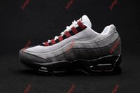 Wholesale air running 95 resale online - Drop Shipping Running Shoes Men Airs Cushion OG Sneakers Boots Authentic s New Walking Discount Sports Shoes hococal