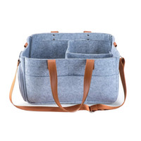 Wholesale pouch for car online – custom Baby Diaper Caddy Nursery Diaper Tote Bag Large Portable Car Travel Organizer Boy Girl Storage Bin for Changing Table