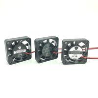 micro ventilador 12v al por mayor-El mejor Ventilador silencioso 40 mm 4010 24 V 12 V 5 V Rodamiento de fluidos 4 CM Micro refrigerador sin escobillas DC Ventilador de enfriamiento 40x40x10 Mini ventiladores de computadora