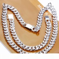 Wholesale silver figaro necklace for sale - Group buy Jewelry Set Sterling Silver Jewelry Silver Men Figaro Chain Necklace Bracelet Jewelry Sets for Men