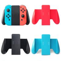 işlenmiş oyun toptan satış-Nintend Anahtarı Aksesuarları için Rahat Joycon Kavrama Nintendo Nintendo Anahtarı Oyunları Gamepad için anahtarı Kolu Braketi Tutucu