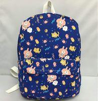 meute de lapin achat en gros de-Sac à dos Kanahei sac à dos de poulet lapin chat joli sac d'école de bande dessinée sac à dos en toile sac à dos sport cartable en plein air