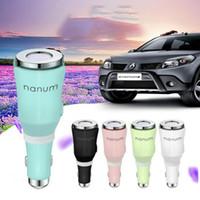 Wholesale oils scents resale online - Mini Car Humidifier Aroma essential oil Diffuser Aromatherapy Car Air Humidifier usb car Aroma Diffuser Essential Oil Diffuser KKA6817