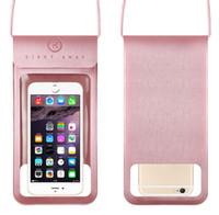 wasserdichte abdeckungen für mobiltelefone großhandel-Hochwertige wasserdichte Tasche Touchscreen wasserdichte Handyhülle PU-Handy wasserdichte Schutzhülle