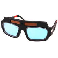 auto capacete de soldagem a arco venda por atacado-Solar Auto Escurecimento Máscara De Solda Capacete de Soldagem Óculos de Proteção de Óculos de Proteção / Soldador Capacete de Proteção de Arco para Máquina de Solda / Equipamento
