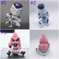 majin buu figür toptan satış-12 cm Dragon Ball Z Majin Majin Buu Majin Boo Şekil action figure PVC oyuncaklar koleksiyonu bebek anime karikatür modeli şekil Oyuncak B