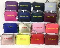 bolsos de cuero de colores al por mayor-Venta caliente de la exportación Nuevo diseñador de la marca famosa Pequeño bolso de hombro de cuero de la PU Crossbody Shell Bolsos Bolsos coloridos fábrica de bolsos de lujo de la marca de EE. UU.