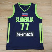 Wholesale real madrid team resale online - Cheap Ediwallen Mens Luka Doncic Basketball Real Madrid Euroleague Europe Jerseys Luka Doncic Team Color White Stitched Top Quality