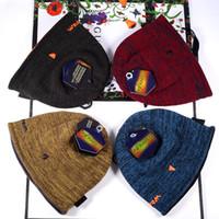 üst sınır toptan satış-Unisex UA Örme Şapka Döner Beanie Altında Kış Sıcak Kafatası Cap Fedora Çift taraflı Beanies Şapka Zırh Erkekler Kadınlar Açık 2019 Caps Wear