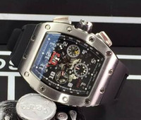 beste automatische sportuhr großhandel-Beste Marke Neuheiten Luxus Herren Automatische Mechanische Edelstahl Uhren Tag Datum Transparent Zurück Gummi Tauchen Moderne Männer Sport Armbanduhr