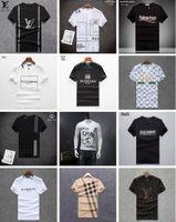 venda de marcas de aparência venda por atacado-Venda quente Da Marca de Verão Homens T Shirt 100% Algodão de Manga Curta T Camisas Homem Tops Tees Moda Masculina T-Shirt Casual Hip Hop Tshirt