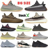 sapatos leves para homens venda por atacado-Top Men Running Shoes Luz Traseira Cinder V2 Designer Sneaker Mulheres 700 do corredor da onda cinzenta contínua Zebra Yecheil Marsh Kanye West Reflective Terra
